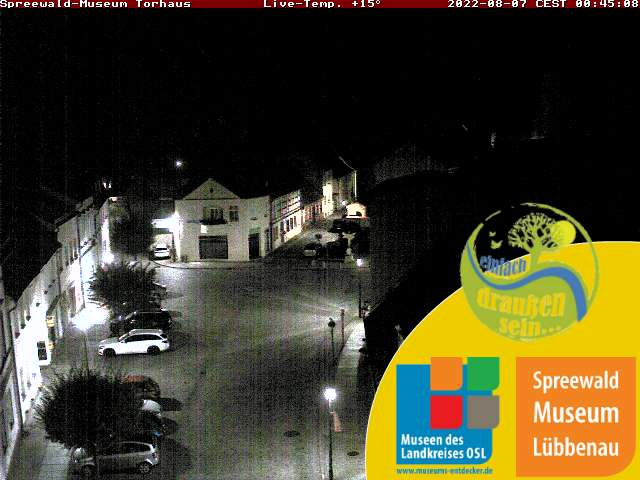 Webcam am Spreewaldmuseum Torhaus L�bbenau